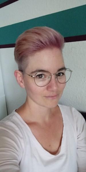 Ich mit neuer Frisur