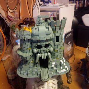 Fertige Castle Grayskull Burg